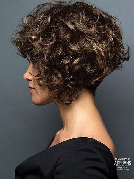 20 Kurze Bob Frisuren Fur Lockiges Haar Madame Frisuren Bob Frisur Frisuren Fur Lockiges Haar Lockige Frisuren