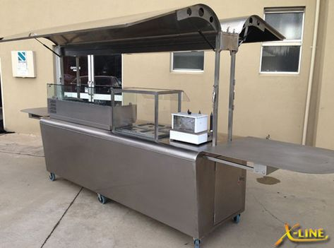Choose your ultimate food cart, catering anywhere from a Confectionery stand, to Hot Dog, BBQ Carts