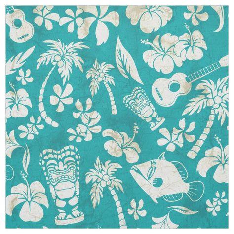 Makapuu Beach Hawaiian Batik Fabric