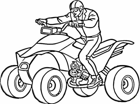 Atv Motors Coloring Page Is The Best Way To Have Fun And Relax While You Color In Detail Our 5 Amaz In 2021 Super Coloring Pages Coloring Pages Superman Coloring Pages