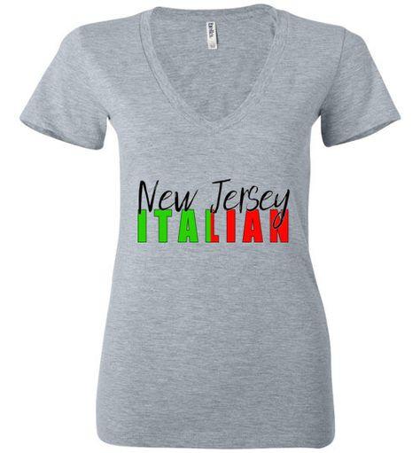 Navy Block V-Neck T-Shirt Size M Kiss