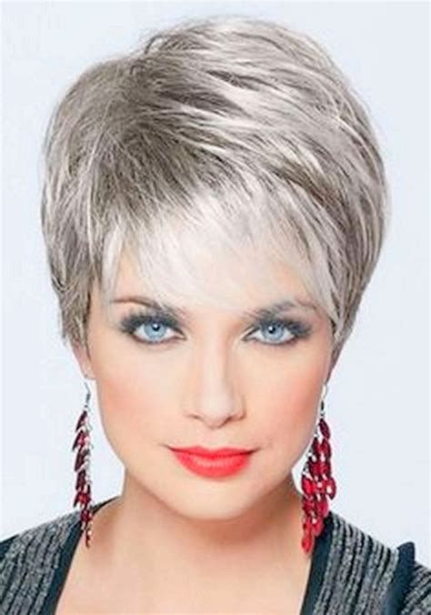 Short Hairstyles For Older Women Over 60 Women Medium Cool Short Hairstyles Short Hair Styles Short Thin Hair