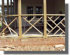 Fancy Deck Railing Chippendale Pattern Diy Instructions Diy Deck Deck Railings House With Porch