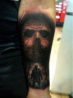 Tatuagem de Jason de Sexta Feira 13