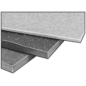 Fiberplate Grit Poly Gry 1 8 X 48x 96 In Grey Plates Dark Grey Color Glass