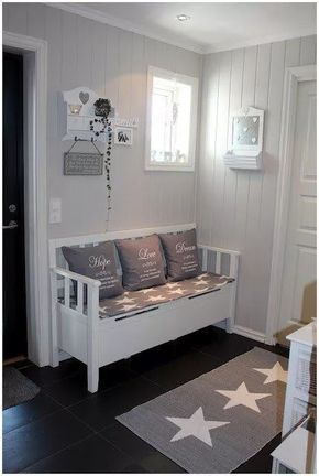 panca-ingresso-shabby-chic | Shabby Chic Decor | Pinterest | House ...