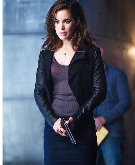 Dominion TV Series Claire Riesen Jacket in 2020 | Dominion