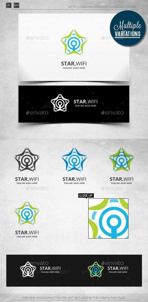 Star Wifi II - Logo Template
