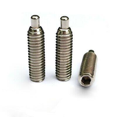Sponsored Ebay 2pcs M10 Set Screw Plunger Bolt Allen Spring Bead Located Screws Plungers Bolts Plunger Bolt