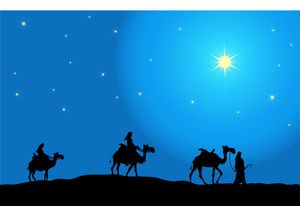 Christmas Clip Art North Star.By Pam New Christmas Clipart Three Wise Men Following The