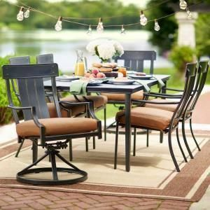 40+ Oak cliff 7 piece stamped back dining set Various Types