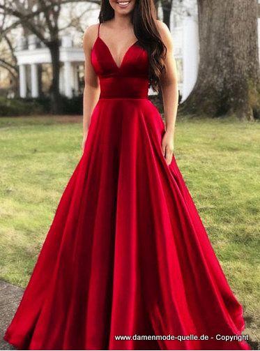 A Linie Maxi Kleid 2020 Elegant In Rot Kleider Abschlussball Kleider Damen Mode