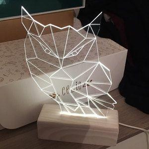 Leaf Tropical Monstera Nightlight Lamp 3d Nature Modern Decoration Led Plexiglas Gift Idea In 2020 Night Light Lamp Night Light Lamp