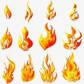 O Fogo Material De Vector De Material De Decoracao Chama De Fogo