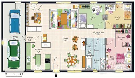 Plan Maison Moderne Minecraft Gamboahinestrosa