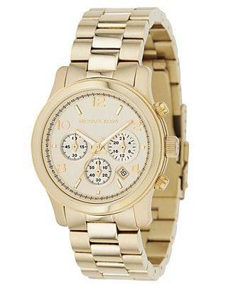 Michael Kors watch - investment piece, love mine!