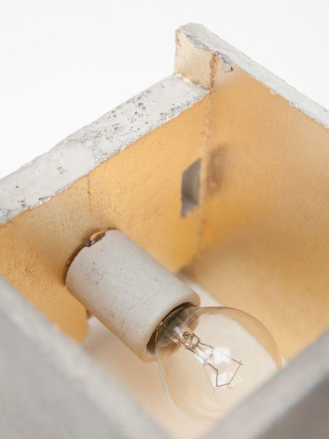 Applique in cemento [B3] by GANTlights