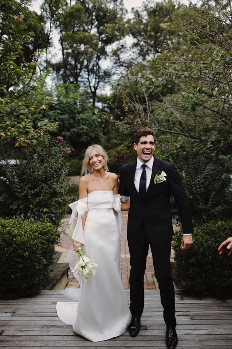I'm the happiest man alive! Dress: Nicole gown by @sachinandbabibride, Suit: @mjbale, PC: @justinaaronweddings