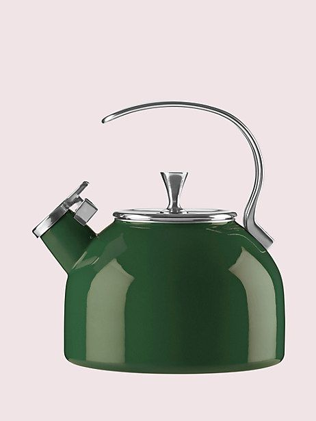 Pin By Melinda Kneeland On Christmas List Green Tea Kettle Tea Kettle Dark Green Kitchen
