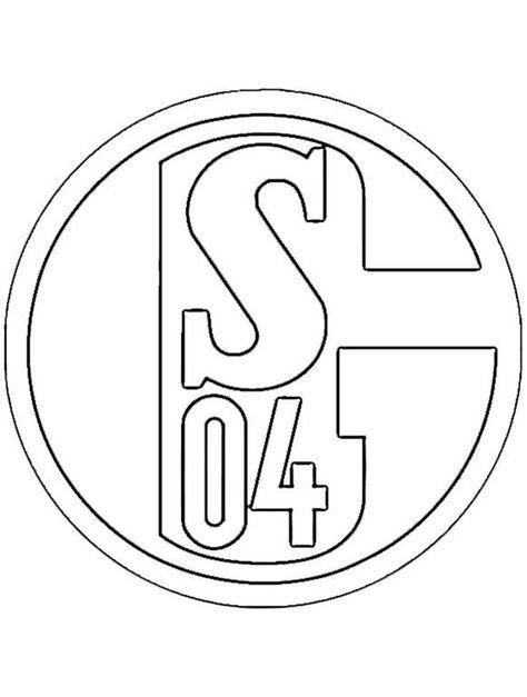 Bundesliga Ausmalbilder Fussball Wappen