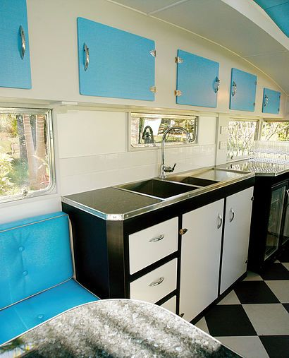 32e3064ff1 Vintage caravan fully restored and available to hire across the Sunshine  Coast region as a mobile bar