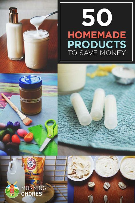 50 Products You Can Make at Home to Save Money (and be Healthier)