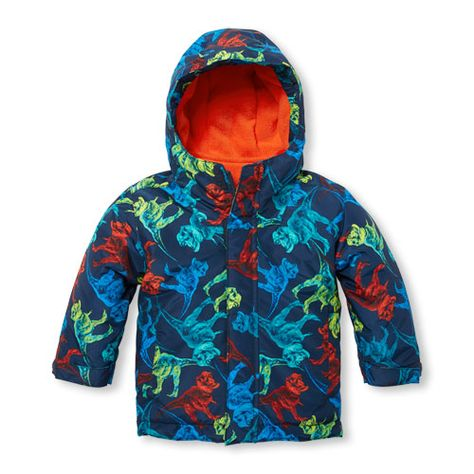 ca694907072d Toddler Boys Printed 3-In-1 Jacket