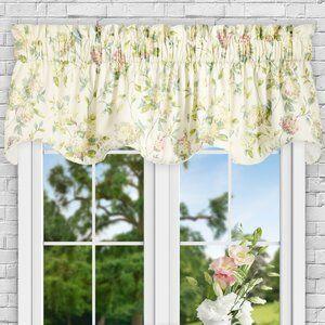 Erie Hydrangea Lined 70 Curtain Valance Joss Main Window Curtains