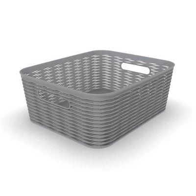 11l Medium Wave Design Storage Bin Gray Room Essentials In 2020 Room Essentials Wave Design Storage Bin
