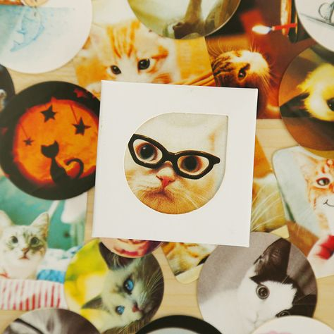 Karikatur Tagebuch Sticker DIY Aufkleber Alben Deko Kawaii-Scrapbooking Box Set