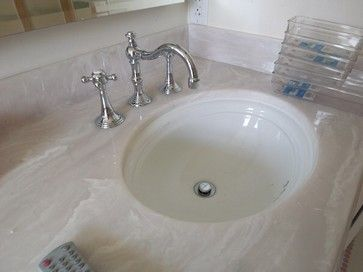 Cultured Marble Countertop With Kohler Undermount Sinks Cultured Marble Countertops Cultured Marble Shower Cultured Marble
