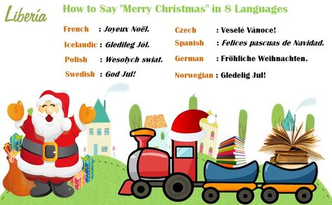 How Do You Say Merry Christmas In Swedish.Doyouknow How To Say Merry Christmas In 8 Languages Have A