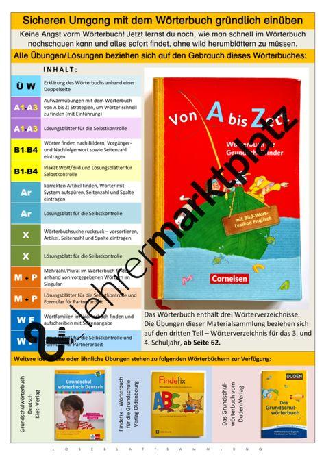 Pin Auf Alphabet Und Wörterbuch