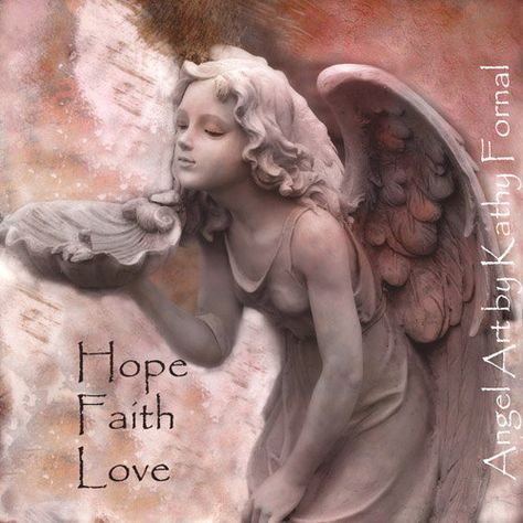 Angel Photography Note Card Angel Fairy Girl by KathyFornal