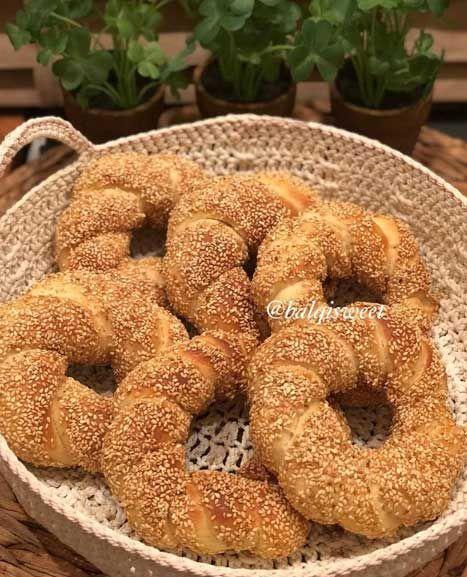 طريقة عمل السميط التركي الهش بالطريقة الأصلية سهلة ولذيذة Bread Bagel Food