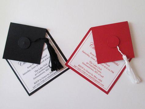 Graduation Invitations, High School Graduation Party Invitation, College Graduation Invites, Grad Announcement, Class of Grad Party