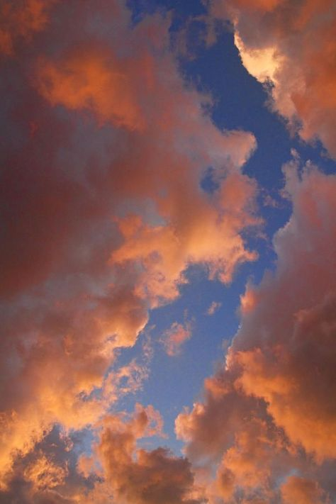 Pink clouds | Autumn sky | Cloud photography
