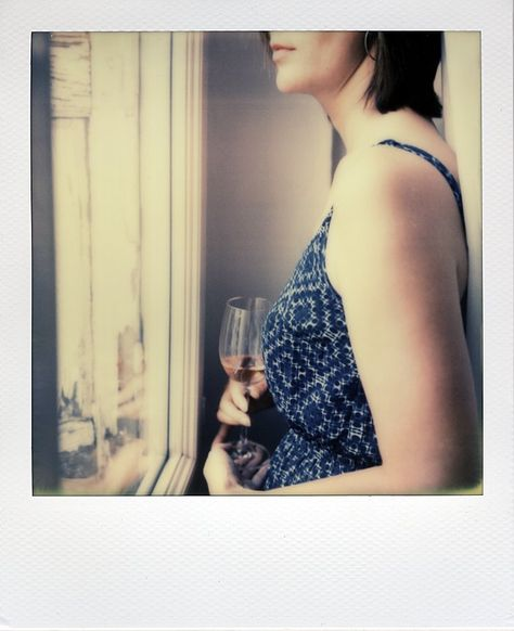 The last drink by Cyril Auvity, Photography, Polaroid, instant film