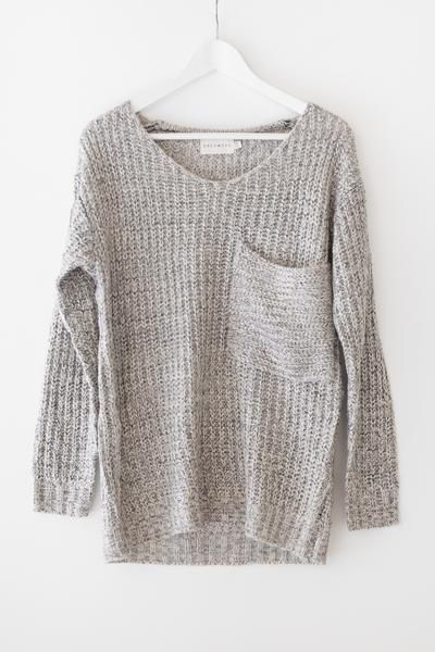 Oversized Knit Sweater | Outfits | Pinterest | Cozy and Oversized ...