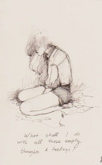 New Drawing Ideas Sad Feelings Illustrations 32 Ideas #drawing