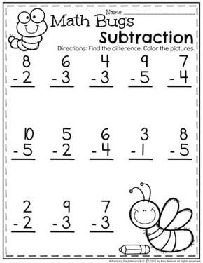 Subtraction Worksheets Planning Playtime Kindergarten Subtraction Worksheets Kindergarten Math Worksheets Kindergarten Math Worksheets Free