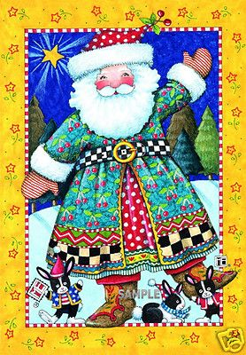 Cheery Christmas Santa www.verymerrymagnets.com  See us on ebay and Etsy...Very Merry Magnets