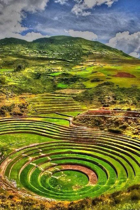 The Rings of Moray - Peru