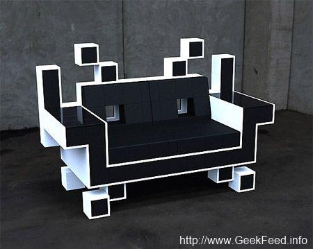8 Bit Chair