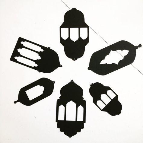 فوانيس ورقية معلقة لزينة رمضان اصنعها بنفسك Ramadan Crafts Ramadan Kids Ramadan Lantern