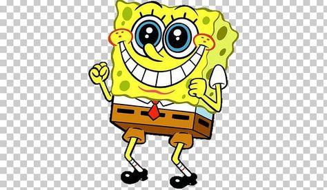 Spongebob Excited PNG - Free Download