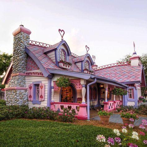 La maison de Minnie | ۩۩۩۩ HOME sweet HOME ۩۩۩۩ | Pinterest | Maison ...