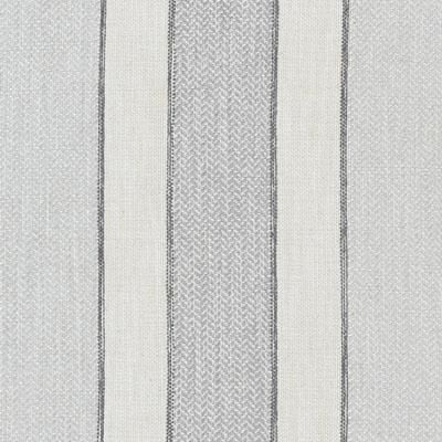 Upholstery Fabric Grey Stripe W