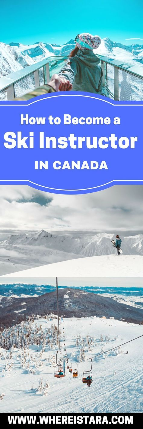Become a Ski Instructor in Canada - Make the Most of Your Gap Year - Where Is Tara?