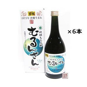 もろみ酢 元祖 石川酒造  むるんさんドライ (原液)  720ml  6本セット  沖縄